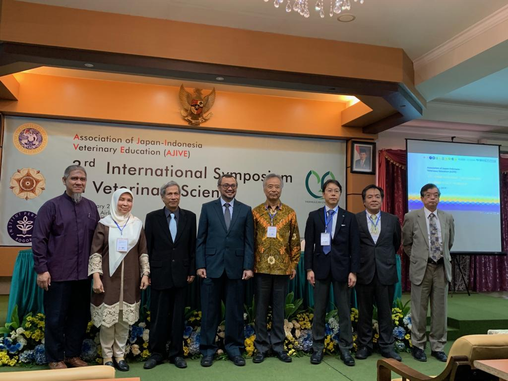 3rd International Symposium in Veterinary Science diselenggarakan oleh Association of Japan-Indonesia Veterinary Education (AJIVE)
